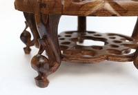 Circular Base Carved Small Sweet A Few Solid Wood Household Act The Role Ofing Is Tasted