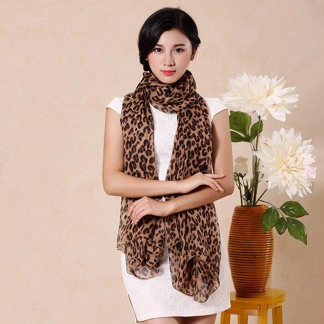 tienda de liquidación estilo distintivo excepcional gama de estilos Venta Otoño e Invierno bufanda mujer moda leopardo estampado ...