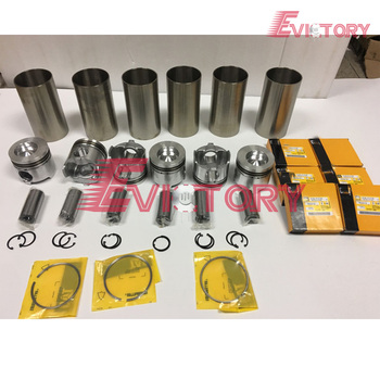For Caterpillar engine overhaul kit  3116T 3116DITA 3116 piston + ring cylinder liner full gasket and bearing kit