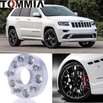 Fits Jeep Grand Cherokee 2PCS Wheel Hub Centric Spacers Tire Adapters Rims Flange 5x127 Center Bore 71.6mm Aluminum