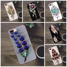 Bling Crystal Rhinestone Flower For Huawei G8 Honor 5C 5X 6 6X 7 8 9 Y5II Mate 9 P7 P8 P9 P10 P20 Lite Plus 2017 Soft Cover Case(China)