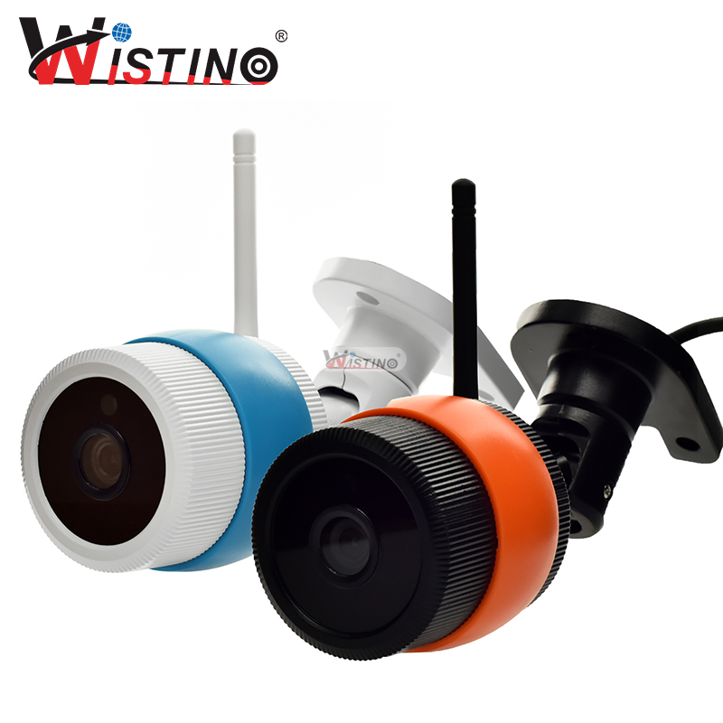 Wistino 1080P 960P WiFi Bullet IP Camera YOOSEE Outdoor Street Waterproof CCTV Wireless Network Surverillance Support Onvif cctv camera housing metal cover case new ip66 outdoor use casing waterproof bullet for ip camera hot sale white color wistino