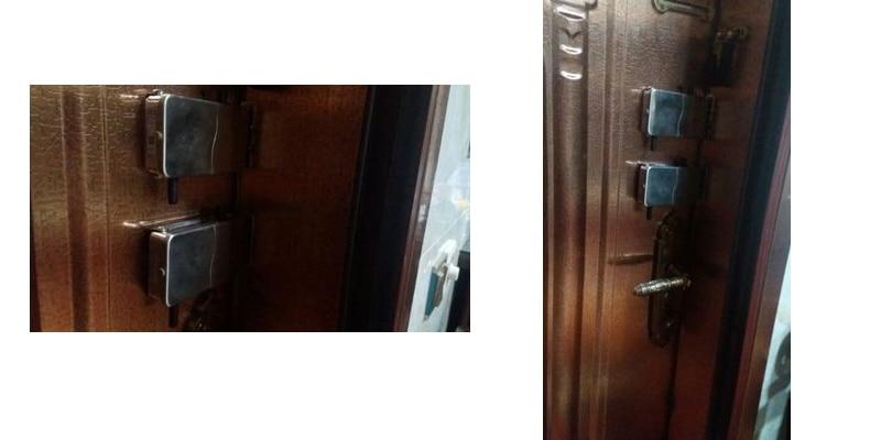 RAYKUBE Wireless Electronic Lock With Remote Control Keys Opening Invisible Intelligent Lock Wireless Keyless Door Lock R-W39