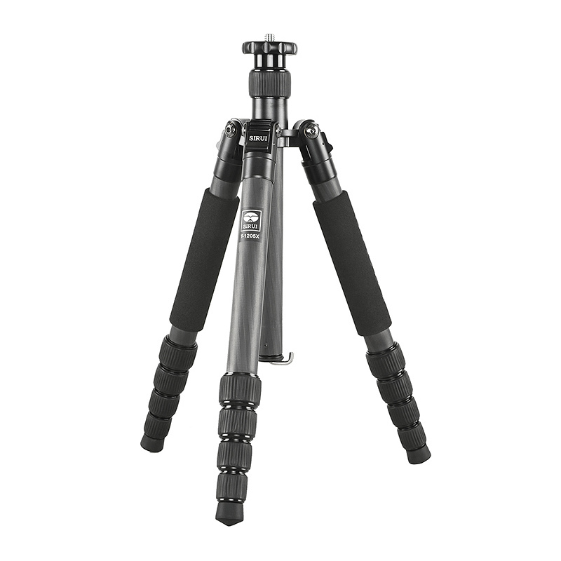 все цены на Sirui T-1205X Professional Tripod Stand For SLR Cameras T1205X Carbon Fiber Light weight Handy Travel Extendable Leg Strap Bag онлайн