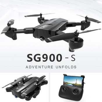 2019 New Professional RC Foldable Drone Wifi FPV 720P/1080P HD Wide Angle Camera GPS Positioning Follow Me Function Quadcopter