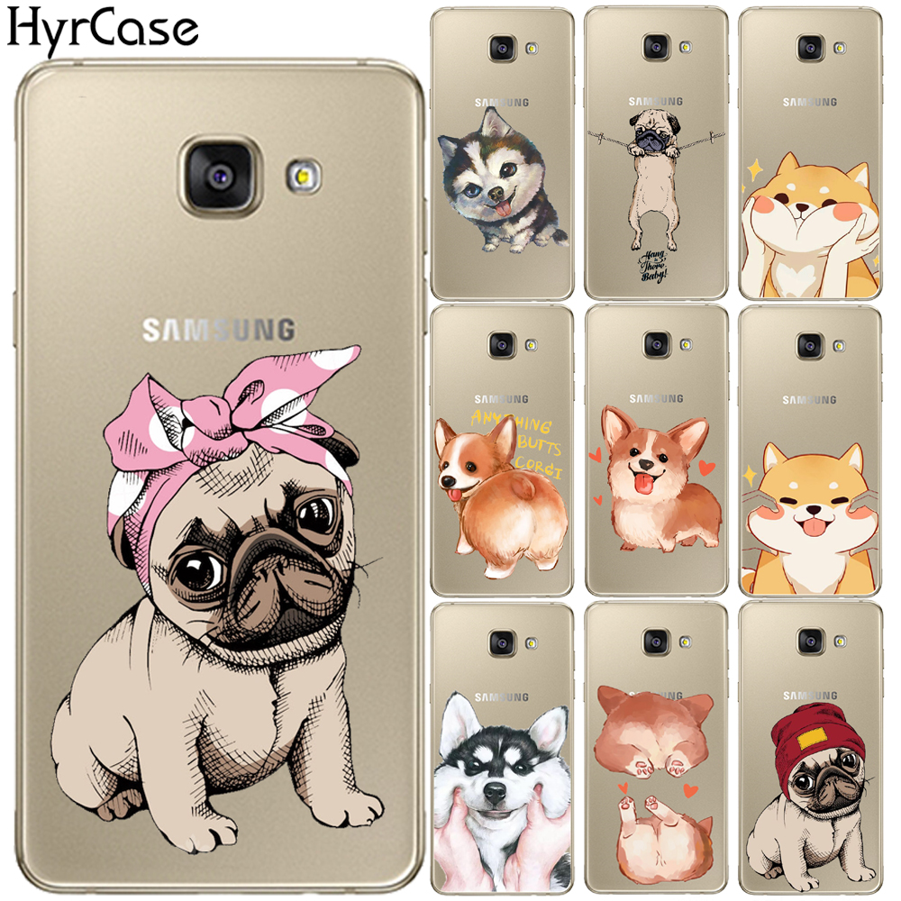 Cool Corgi Pug <font><b>Dog</b></font> Soft TPU <font><b>Case</b></font> For Coque <font><b>Samsung</b></font> <font><b>Galaxy</b></font> J3 J5 J7 J2 Prime <font><b>A3</b></font> A5 A7 2015 2016 <font><b>2017</b></font> A8 Plus A7 2018 <font><b>Phone</b></font> Cover image