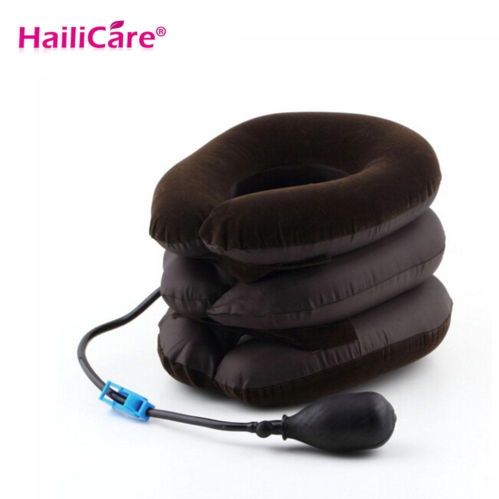 Inflable de Aire Cervical Tracción Del Cuello para Dolor de Cabeza Cabeza Hacia
