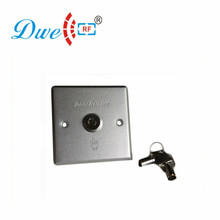 DWE CC RF кнопочный алюминиевый сплав кнопка контроля доступа переключатель с ключом Rfid релиз DW-803E