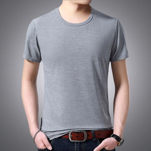 V Neck Short Sleeved T-shirt 8