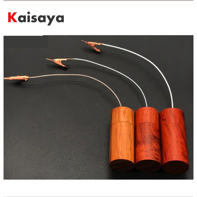 HiFi Audio Cable Ground Loop Noise Isolator GND Black Hole Eliminate Static Electricity Power Purifier Electronic T0894