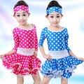 Латинской Балет Латинский Танец Dress Для Девушки Самба Dress Dancing Dress Девушки Танцевальная Одежда Малыша Костюм Baile Латино Девушки