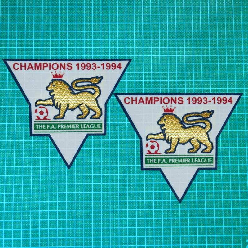 epl GOLD Premier League Champions 1993/1994/1995/1996/1997/1998/1999/2000/2001 Soccer badge Cashmere material lextra 1 Pair