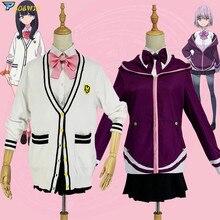 SSSS.GRIDMAN Takarada Rikka Shinjo Akane Cosplay Costume Japanese Anime Denkou Choujin Gridman Uniform Set Outfit Cosplay недорого