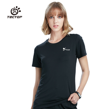 Tectop Women Spring and summer Outdoor Quick Dry short sleeve T-shirt