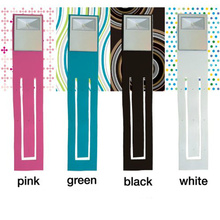Portable Clip-on book light led book light electronic bookmarks lights Novelty gifts reading lamp nightlight LED night light cheap Halojaju Book Lights Dry Battery Button Cell LED Bulbs JJD-D22 Clip-on book lights ROHS white black blue green ABS resin + TPR