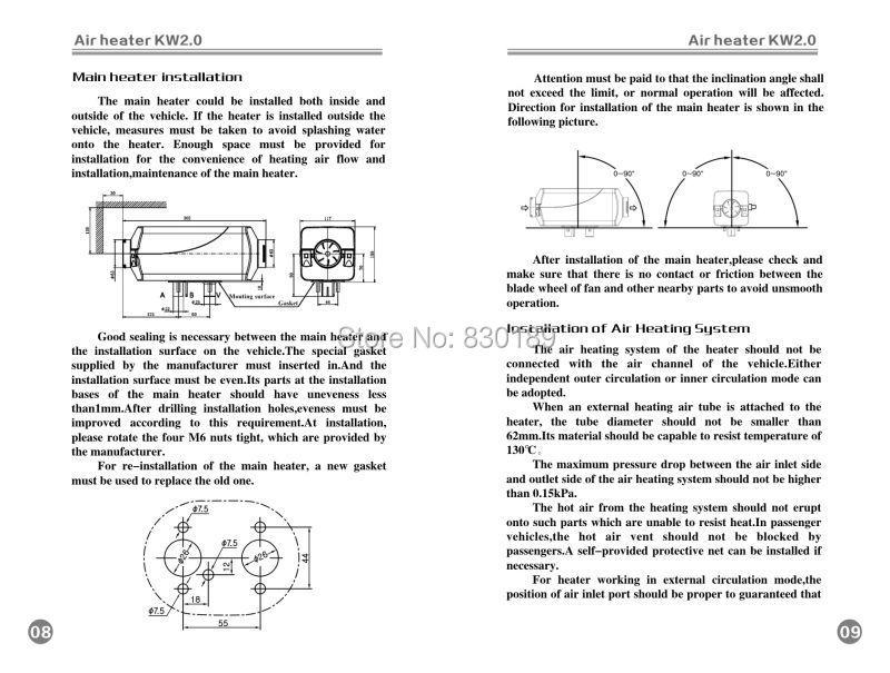 Webasto Diesel Water Heater Wiring Diagram - Somurich