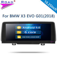 Roadlover Android 9.0 Car Multimedia Player For BMW X3 EVO G01 (2018) Stereo GPS Navigation Automagnitol 2 Din Radio NO DVD MP4