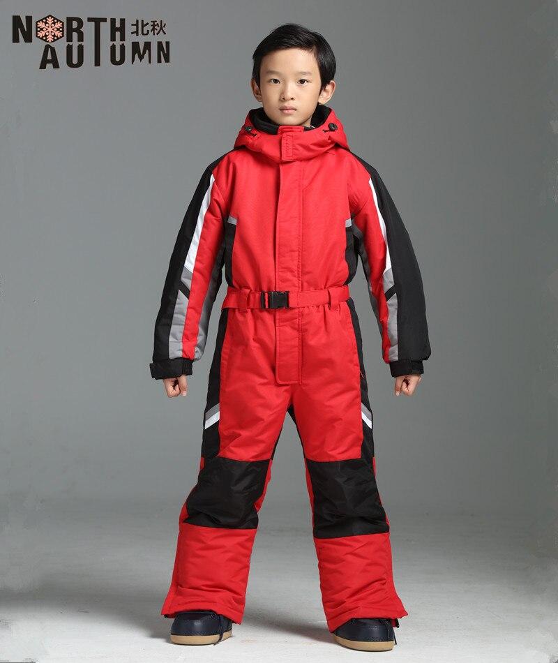 Combinaisons de Ski d'hiver pour garçons combinaison de Ski enfants vestes de Snowboard combinaisons de neige combinaison de Sport fille combinaison de Snowboard imperméable 2-16 T