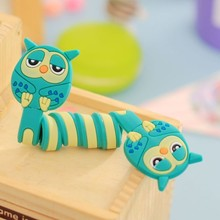 10pcs Animals Silicone Cable Winder Clip Earphone Headphone Earbud Cord Wrap Organizer Holder for iPhone Samsung