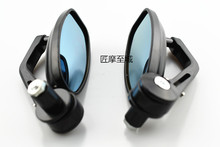 For Motorcycle motorbike side Mirror Aluminium New cool Rearview 1 Pair fashion accessories