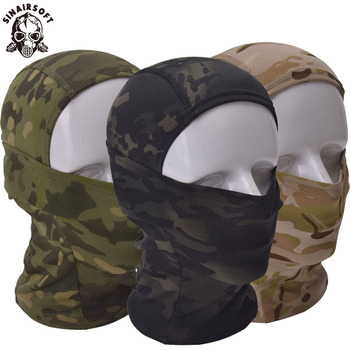 Multicam CP Camouflage Balaclava Full Face Mask Cycling Hunting Tactical Airsoft Cap