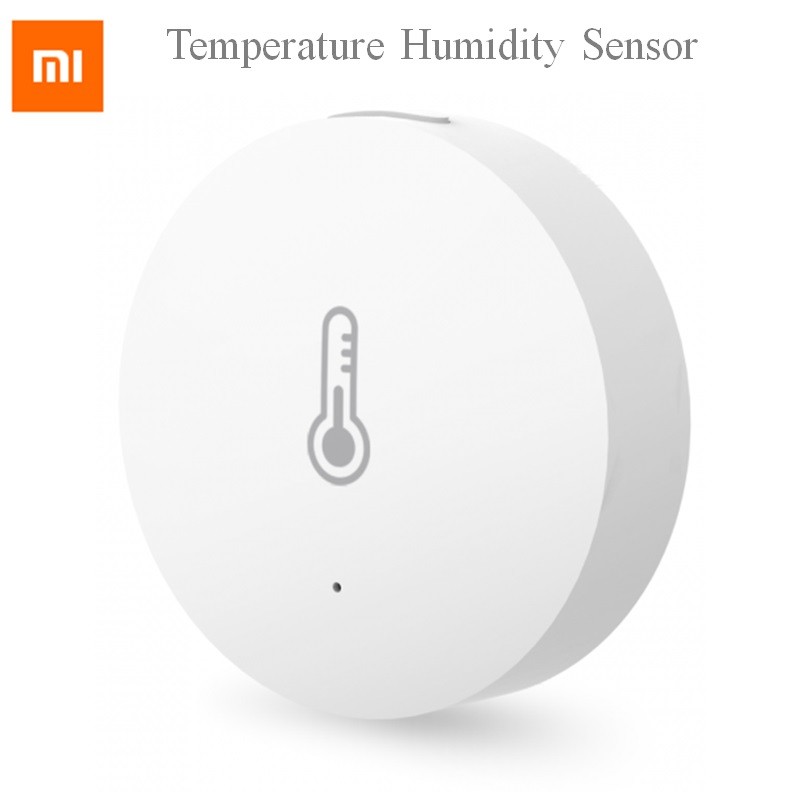 2018 Xiaomi Temperature Humidity Sensor Intelligent Mini Environment Pocket Size Automatic for Smart Home in retail box