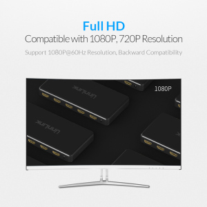 Image 5 - Unnlink 4x1 HDMI Quad Multi viewer HDMI Seamless Switcher FHD 1080P@60Hz for tv box nintend switch ps3 ps4 xbox 360one projector