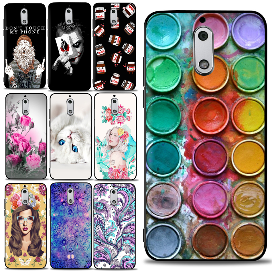 Phone <font><b>Case</b></font> For <font><b>Nokia</b></font> <font><b>3</b></font> 6 Soft Silicone TPU <font><b>Case</b></font> Back Cover For <font><b>Nokia</b></font> <font><b>3</b></font> TA-<font><b>1032</b></font> TA-1020 TA-1038 <font><b>Case</b></font> For <font><b>Nokia</b></font> 6 TA-1003 TA-1000 image