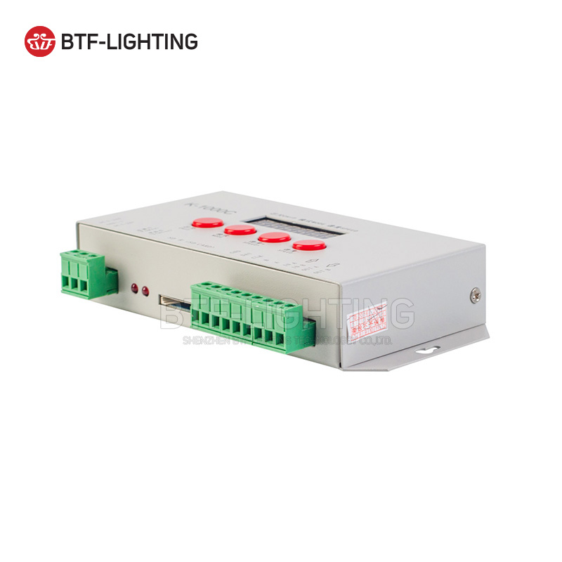 K-8000, T-300K T-500K,K-1000C,K-4000,APA102 SK6812 WS2812B WS2811 SK9822 WS2818 WS2813 WS2801 LED Pixels Program Controller
