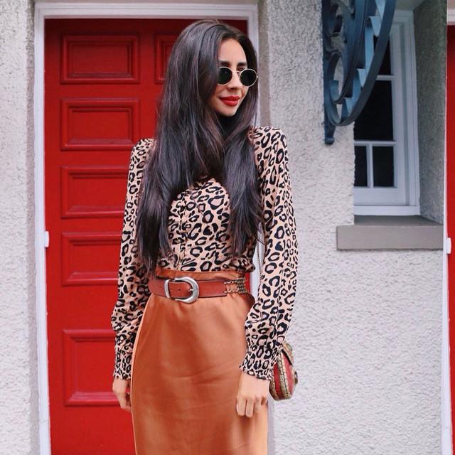 Camiseta Leopardo Francés