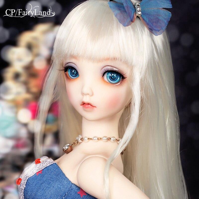 Fairyland Minifee mioA 1/4 bjd dolls MSD model  girls boys eyes High Quality toys  shop resin-in Dolls from Toys & Hobbies    1