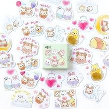 Seal Sticker Kawaii Stationery Decoration Scrapbooking Diy Diary Egg-Bear Children Paper