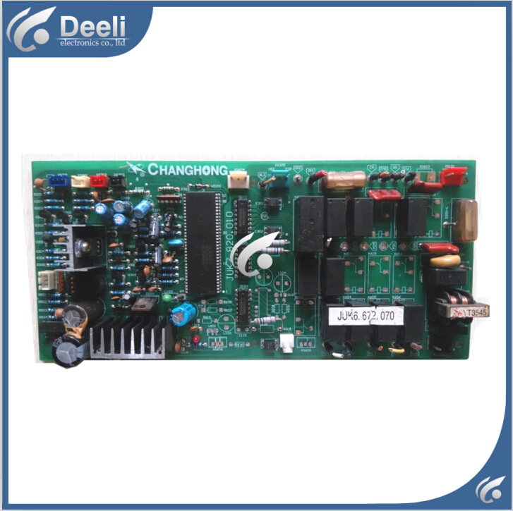 95% new good working for air conditioning motherboard Computer board JUK6.672.070 JUK7.820.010 good working 95% new good working for changhong air conditioning motherboard computer board juk6 672 158 juk7 820 114 board good working
