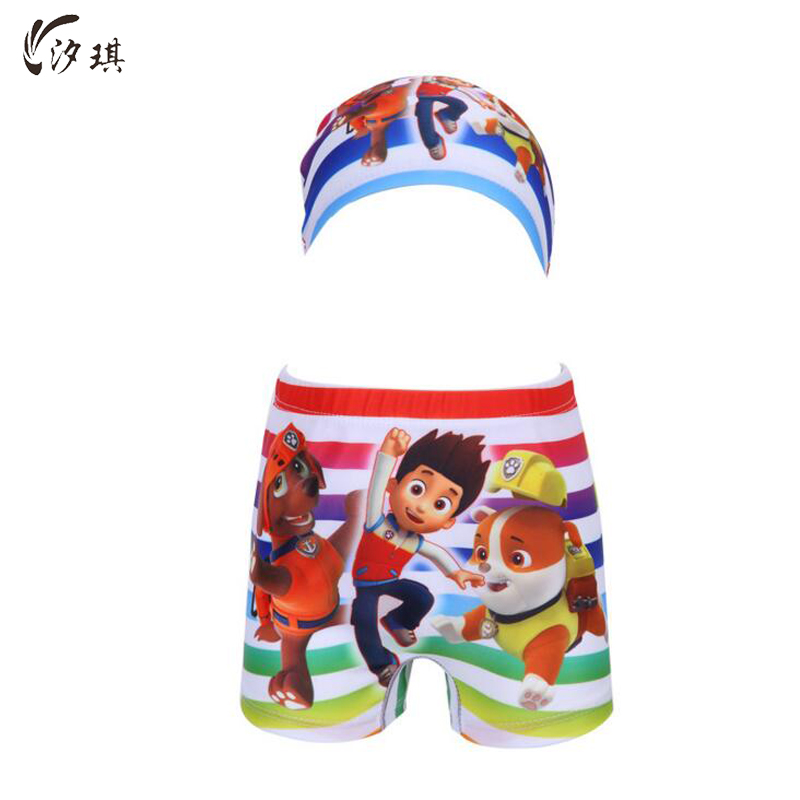 Xiqi Niños raya colorida baño 2017 niños del traje de baño natación troncos separada traje de baño de los niños Niños desgaste del verano