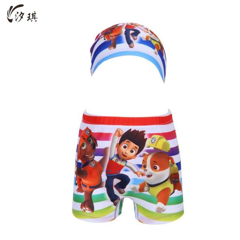 Xiqi chicos colorido raya pantalones cortos 2019 niños traje de niño nadar troncos separados de los niños traje de niños ropa de verano