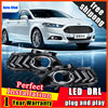 For Ford Mondeo DRL Cover Fog Lamp Bright LED Special Ford Mustang Modified Daytime Running Lights