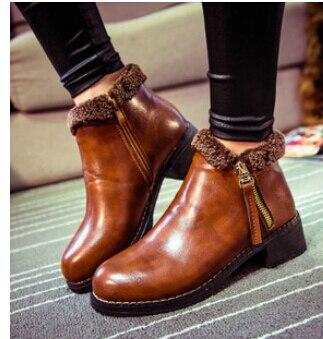 b5196c15794 chaussures bottes femmes en Pas femme cuir cher d hiver prix mode agW1Px8