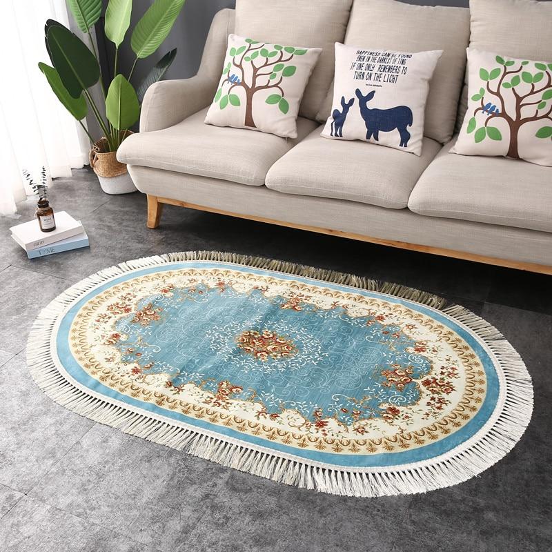 Coton doux gland maison tapis pour salon chambre enfant chambre décorer maison tapis plancher porte tapis Simple nordique zone tapis - 2