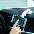 Baseus Extend Car Mount Stand with Sucker Base 360 Degree Rotation Universal Mobile Phone Holder Width 60mm - 93mm
