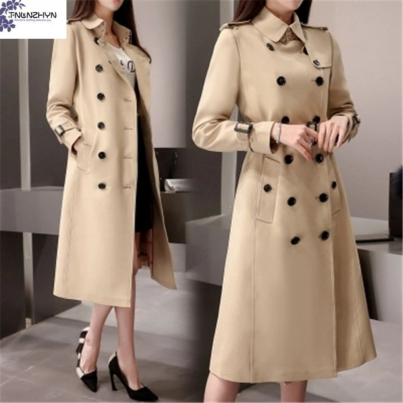 TNLNZHYN 2017 Trench Coat Spring autumn Korea New Fashion ...