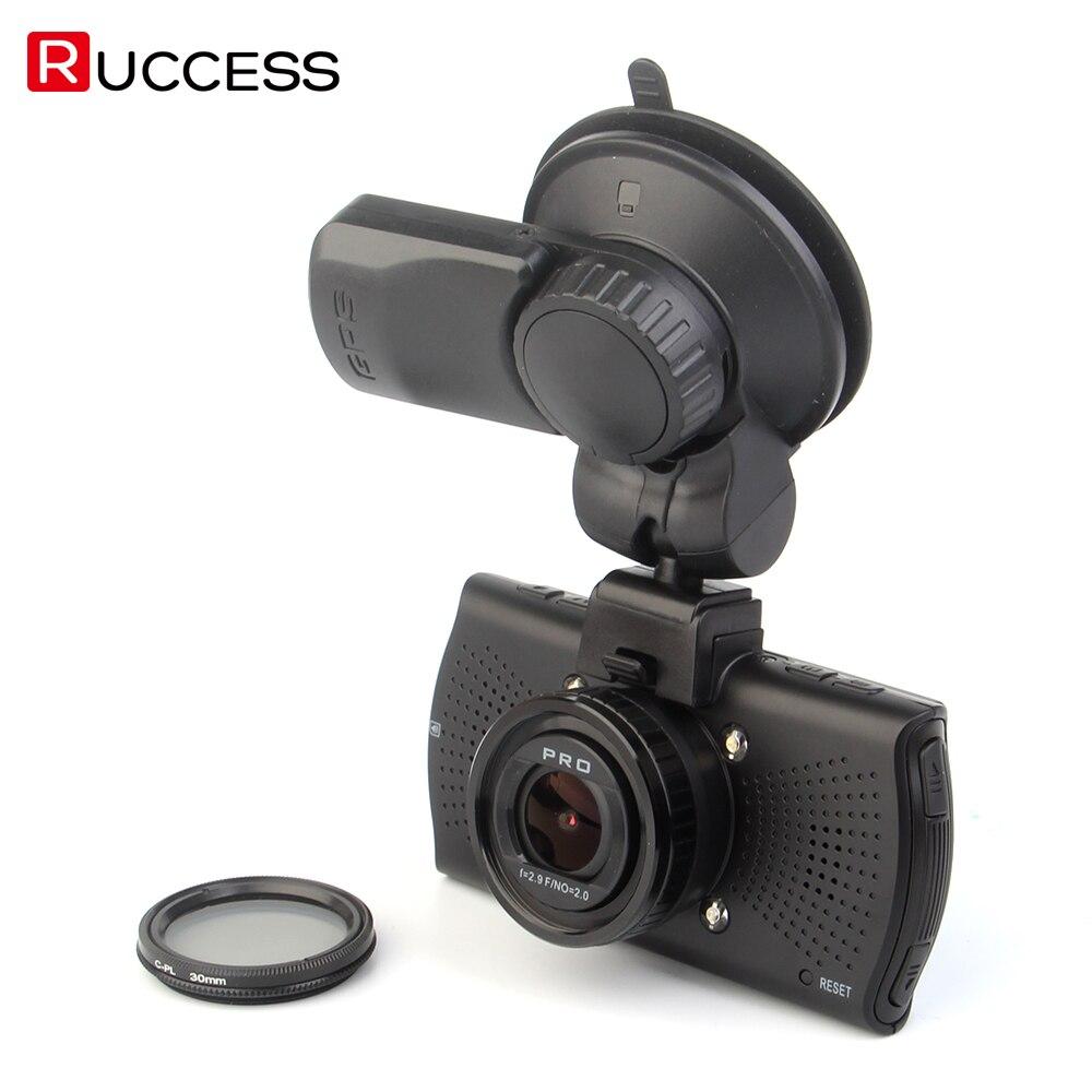 Ambarella A7LA70 Voiture DVR GPS Caméra DVR Super HD 1296 p WDR nuit Vision Dash Cam 1080 p Vidéo Enregistreur Boîte Noire CPL A7810G Pro