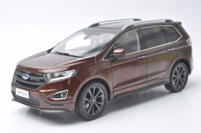 Ford Edge Dimensions >> 1:18 Diecast Model for Ford Edge 2016 Red SUV Alloy Toy ...