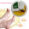 Feet Care Natural Repair Foot Cream Massage Exfoliating Foot Skin Care snail  80g free shipping