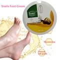 Pies Cuidado Natural de Reparación de Crema Para Los Pies Exfoliante Masaje de Pies Cuidado de La Piel caracol 80g envío gratis