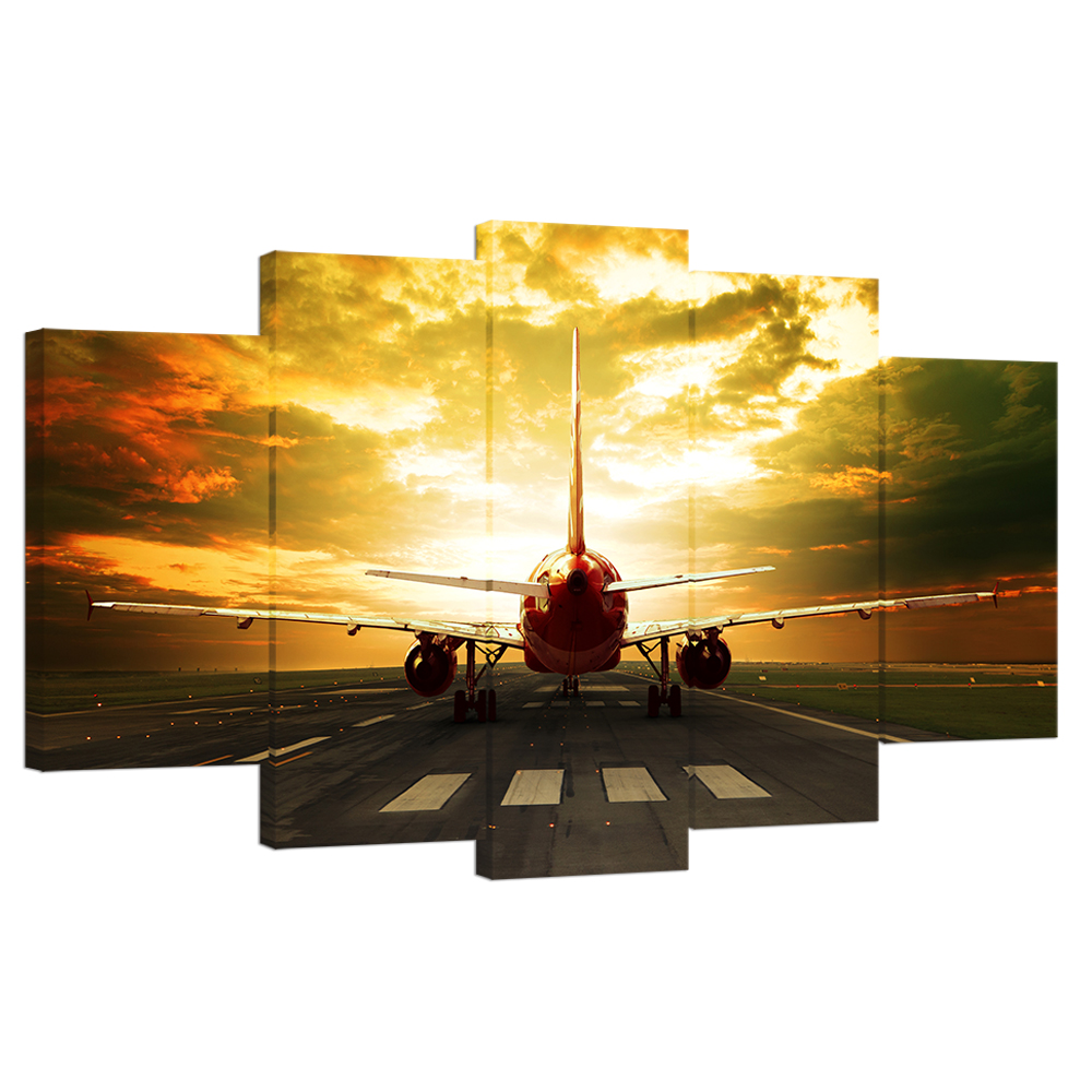 Aliexpress.com : Buy Wall Art Photo Prints Aircraft Plane Take off ...