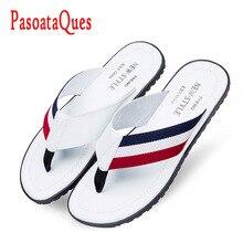 Flip Flops Men Sandals Summer Shoes For Casual Walking Seaside Beach Breathable Slides Men's Brand Designer Comfort Flats 2016
