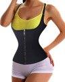 Alça ajustável Trainer Cintura Shaper de Corpo Inteiro com Zíper Corsets Cintura Cincher Tummy Controle Slimming Regatas para Mulheres