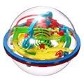 Новейшие Весело 3D Лабиринт Мяч Интеллект Магический Шар Детские Развивающие Игрушки Ребенок Головоломки Игры, Игрушки (случайный цвет)-48