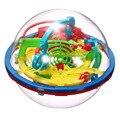 Mais novo Divertido Labirinto 3D Bola Intelecto Bola Mágica Crianças Kid Brinquedos Educativos Jogos de Puzzle Brinquedo Do Bebê (cor aleatória)-48