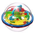 Newest Fun 3D Maze Ball Intellect Magic Ball Children Kid Educational Toys Baby Puzzle Games Toy (random color) -48
